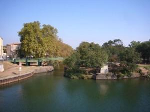 Départ du Canal du Midi à Agde