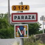 Nous sommes arrivés à PARAZA, mais ça vous l'avez peut-être deviné !