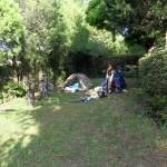 Départ du camping Las Pinhiers, on ne se doute pas de ce qui nous attend !