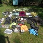 Quelle organisation ! Inventaire de tout notre équipement !