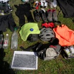Quelques photos du matériel nécessaire pour une telle randonnée