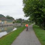 En route pour Aiguillon, la plus longue étape, entre 75 et 80 km