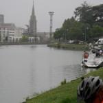 Passage par Agen sous la pluie !