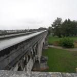 Le plus long pont qui supporte le canal sur tout le trajet