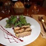 Pressé de foie gras aux pruneaux façon Roger