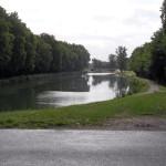 De retour sur le canal à 3 km du camping !