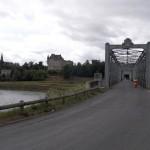 Nous retraversons le pont car nous nous sommes trompés de chemin, nous devons aller direction Langon