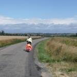 A la recherche d'une hypothétique piste cyclable qui n'existe pas ! Nous avons tourné en rond pour enfin nous diriger sur Langon