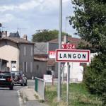 Houf ! nous sommes enfin à Langon après un détour sur de 5 km inutile !