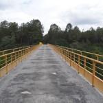 Magnifique pont qui enjambe la forêt des Landes