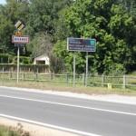 Nous allons traverser la Commune de Biganos !