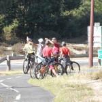 Bavardages entre cyclistes !