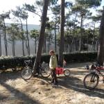 Arrivée au camping du Pyla