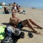 """Premiers bains et bronzage """"sur la plage ensoleillée, coquillages et crustacés ..."""" je vous laisse continuer la chansonnette devant votre écran !"""