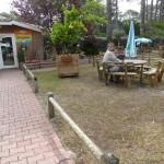 Réception du camping Le Vivier à Biscarrosse