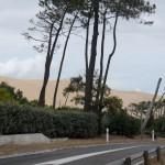 Et toujours la fameuse dune de Pyla que nous retrouvons en allant à Arcachon repérer le camping sur le retour et retirer nos billets de train à la gare !
