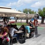 Restaurant La Paillote au bord de l'eau à Arcachon. Bonne adresse !